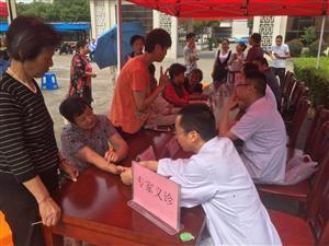吴江民盟盛泽支部义诊和教育咨询走进镜湖社区