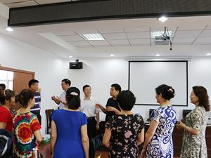 镜湖社区迎检苏州市文明社区创建
