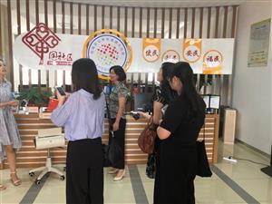 盛泽镇社区工作人员赴相城区北桥街道学习工作经验