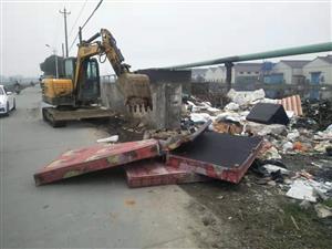 北角村整治建筑垃圾
